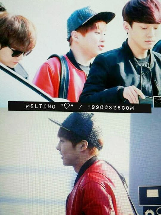 xiumin at Incheon Airport on his way to Taipei2.jpg
