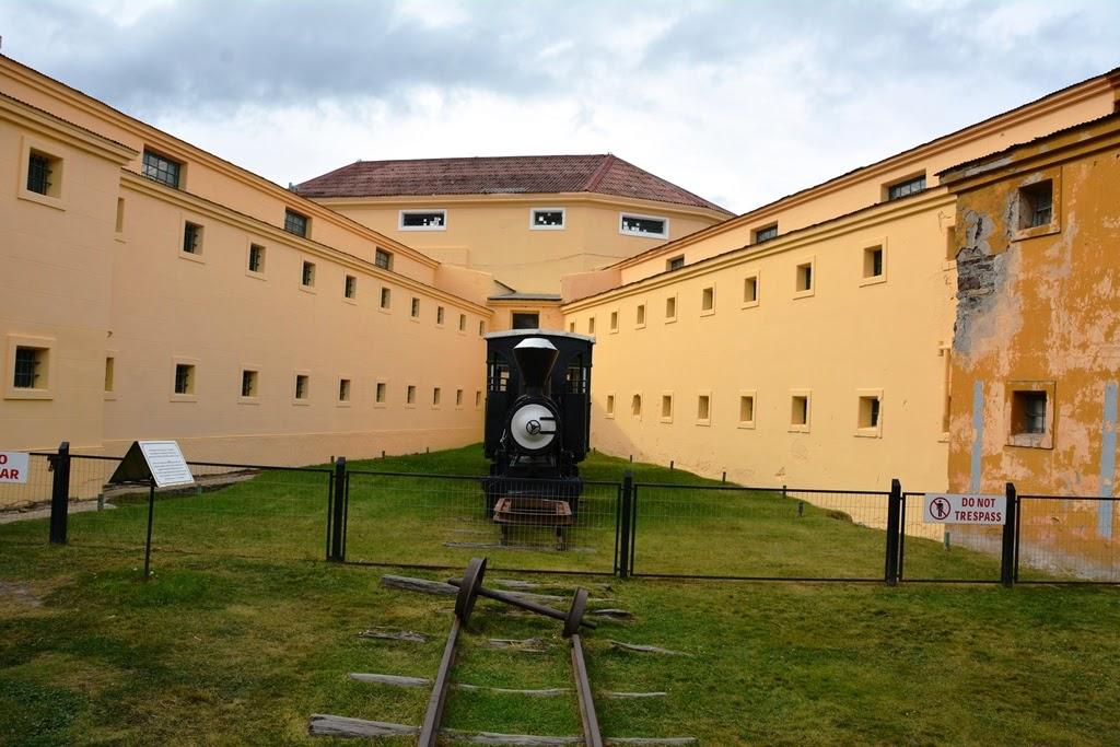Maritim Museum Ushuaia train