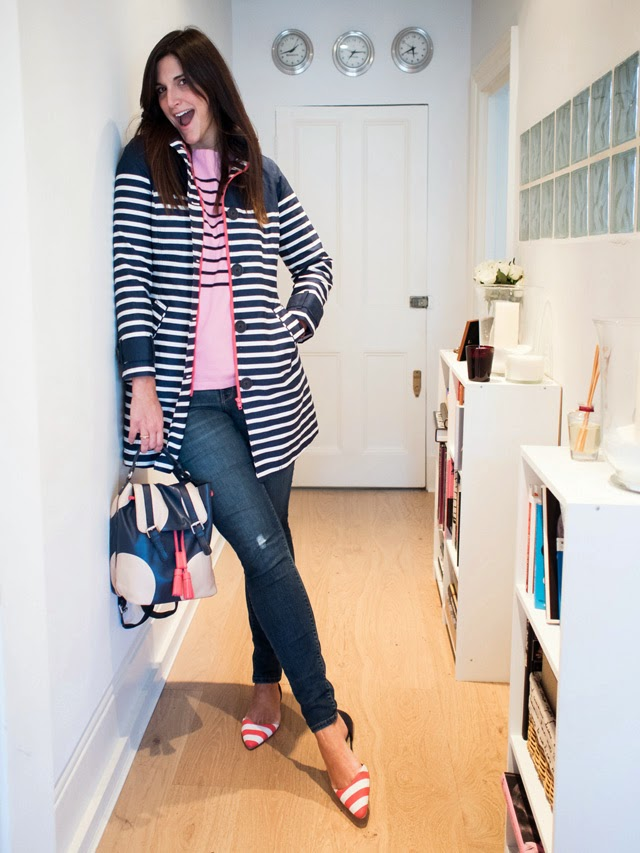 Boden Stripes and Polkadots styling