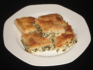 Authentic Greek Recipes: Greek Spinach Pie - Spanakopita