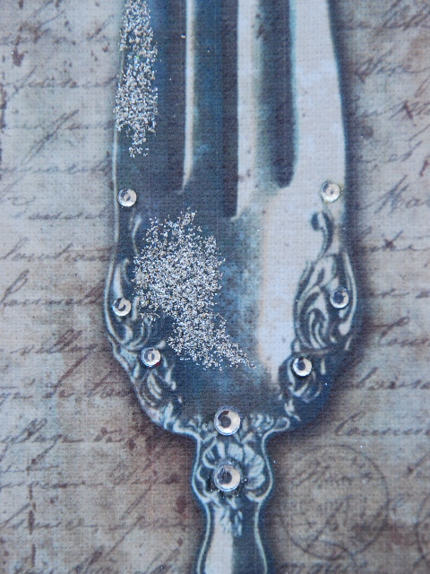 Large Knife Fork And Spoon Wall Decor : Shelley b decor spoon fork and knife wall art