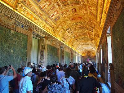 Pasillo de los Museos Vaticanos