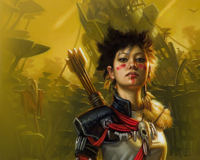 Click and set all Fantasy Warrior Girls Wallpapers for your Desktop  title=