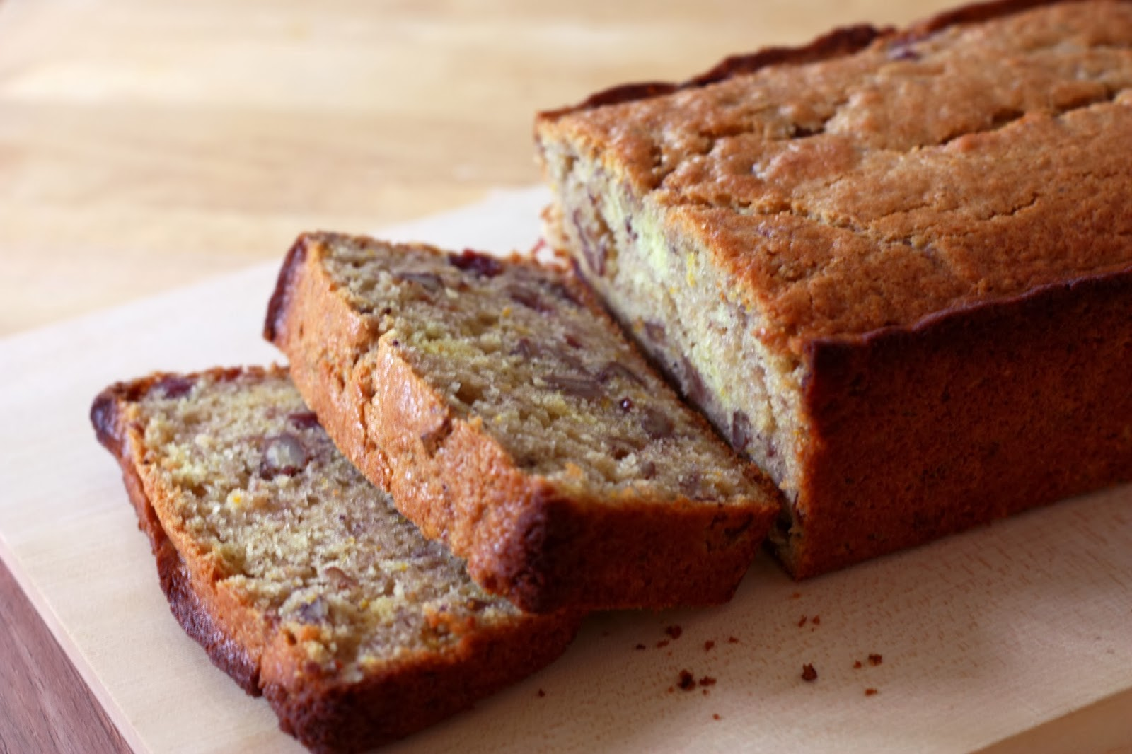ben and birdy: Cranberry-Orange Bread