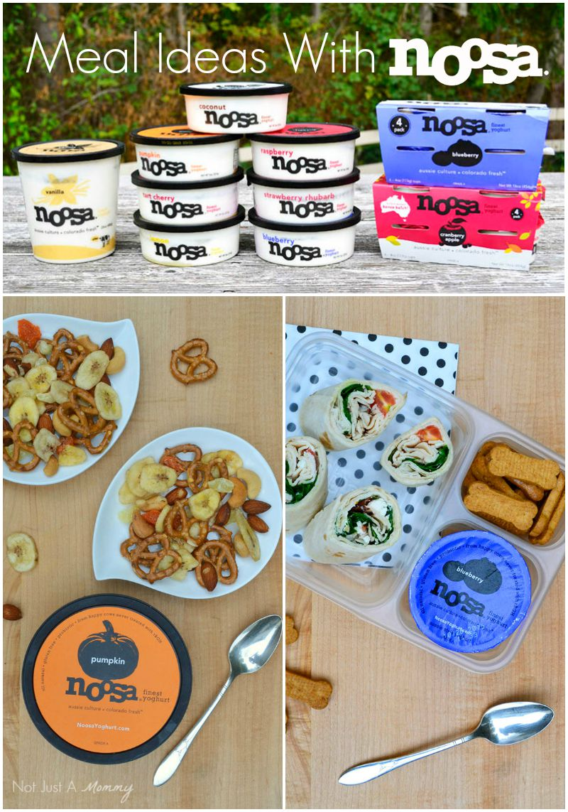 Great and easy meal ideas with noosa yoghurt