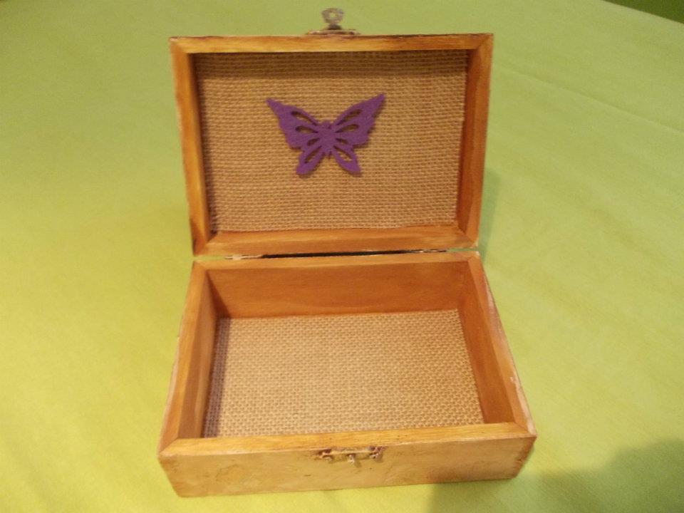 Los caprichos de maysi for Cajas de madera pequenas