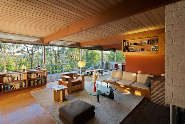 Richard Neutra Architekten Haus in Los Angeles - Fifties Design von Vitra