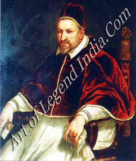 Pope Paul V, St Peter's Basilica was completed during the pontificate of Camillo Borghese (1605-1621). His lavish expenditure on building projects, artworks and his family increased papal debt.