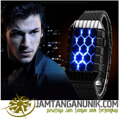 led watch tokyo flash influx hexagonal www.jamtanganunik.com