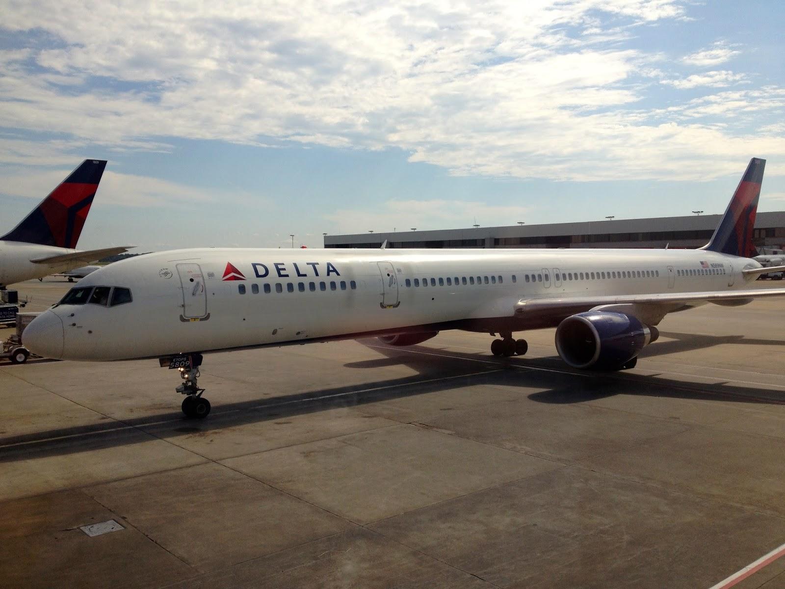 From Private To Professional Pilot Flight Report Delta 757300 Atlanta ATL