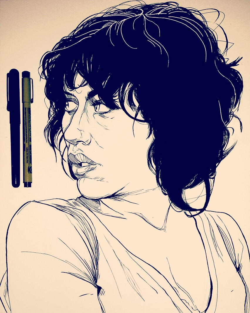 Illustration - Under The Skin Scarlett Johansson
