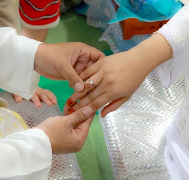 Pernikahan Tahanan Polsek Pamulang Berlangsung di Depan Sel Tahanan.