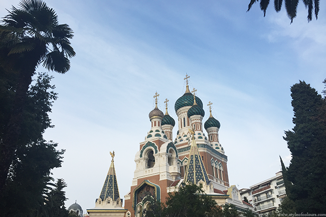 Russian Orthodox Cathedral, Nice, France
