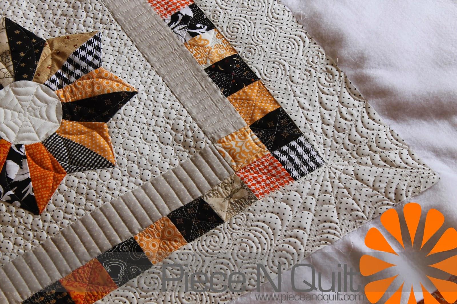 Halloween Quilting Ideas : Piece N Quilt: Halloween Quilt