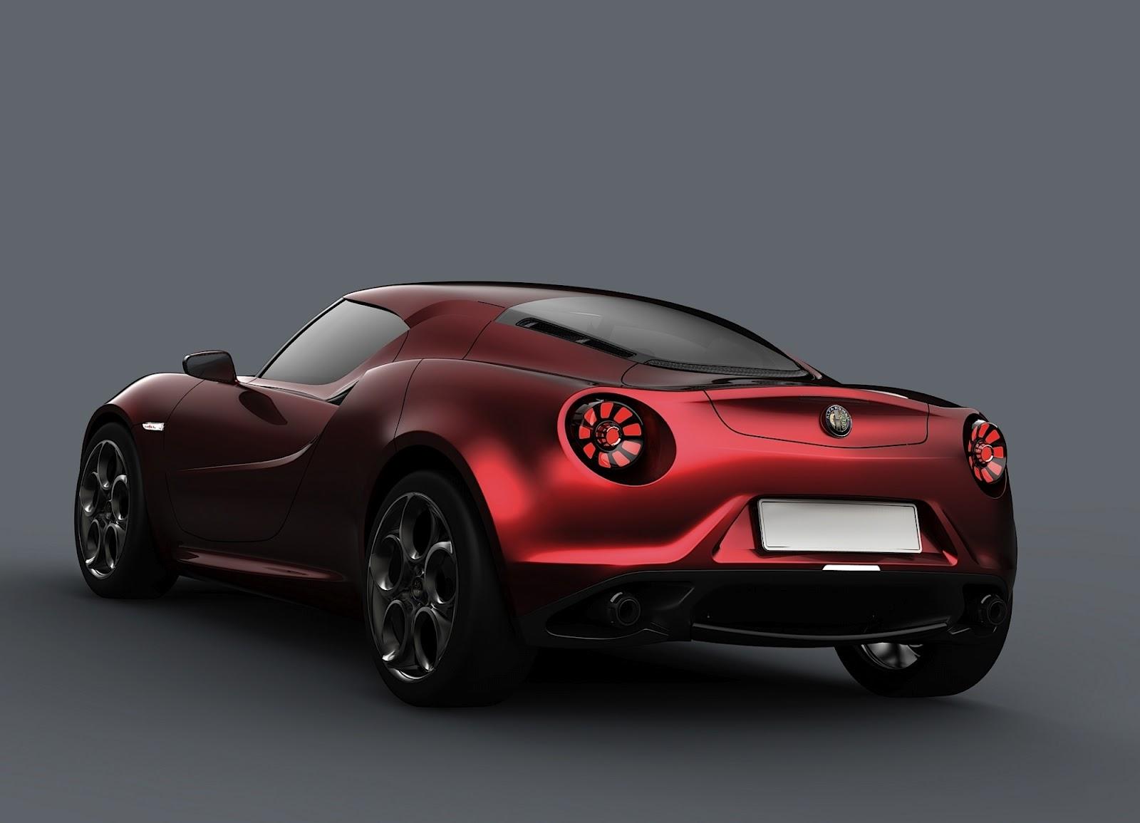 sport car garage alfa romeo 4c 2014. Black Bedroom Furniture Sets. Home Design Ideas