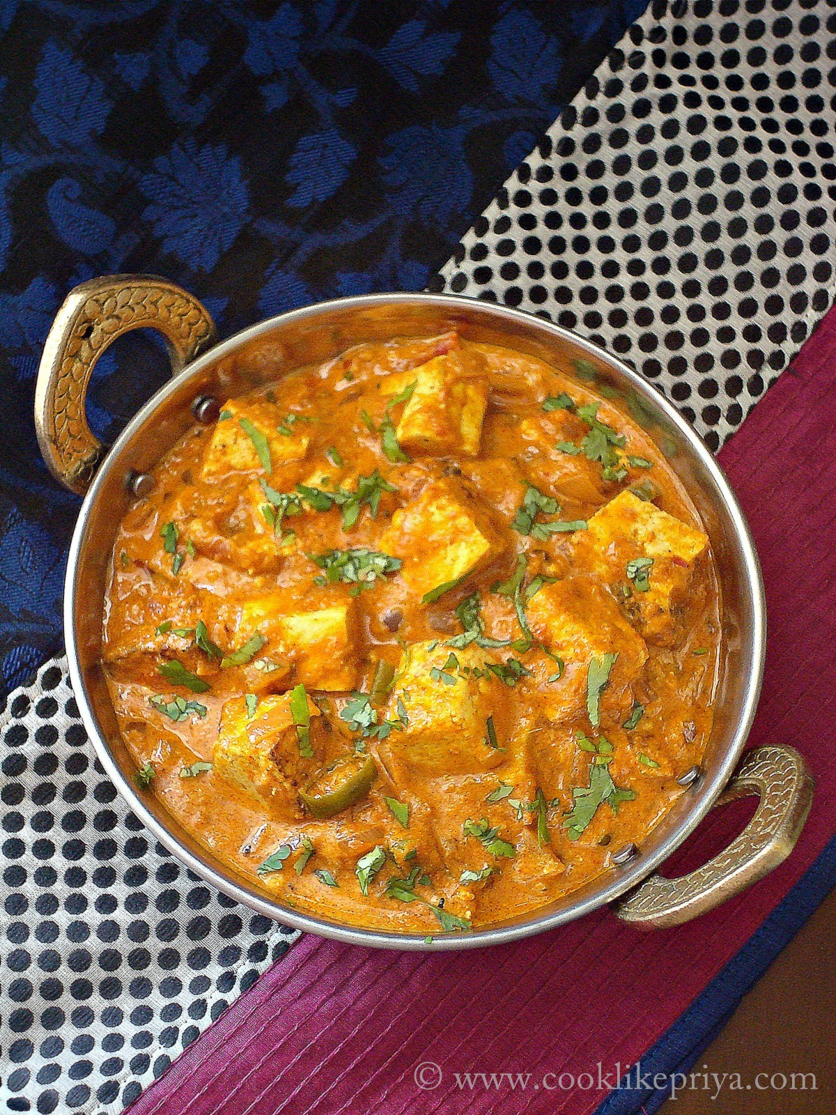Tofu Indian Curry recipe