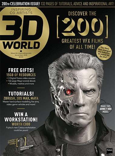 3D World Magazine Issue November 2015