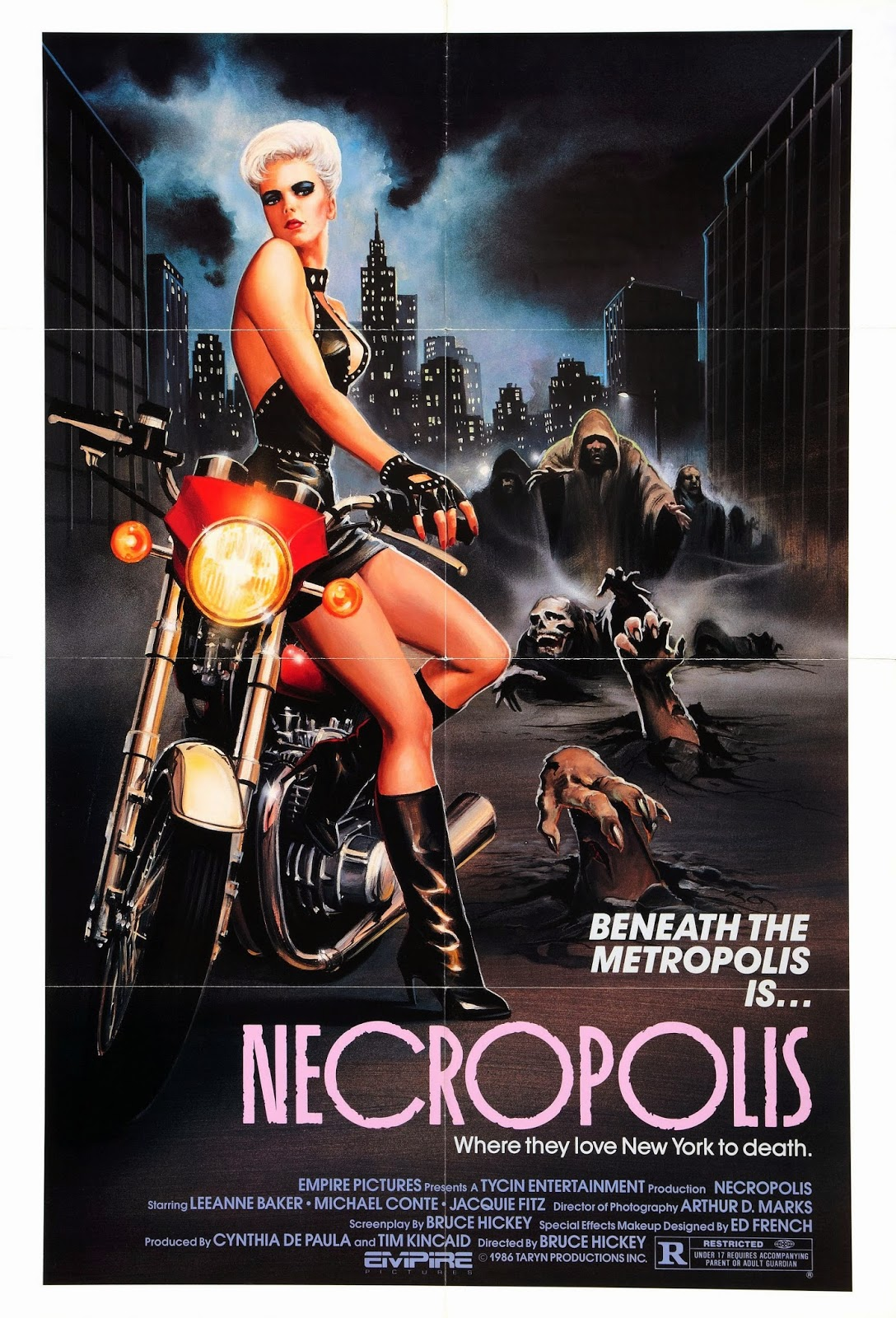 Necropolis Movie Posters From Movie Poster Shop