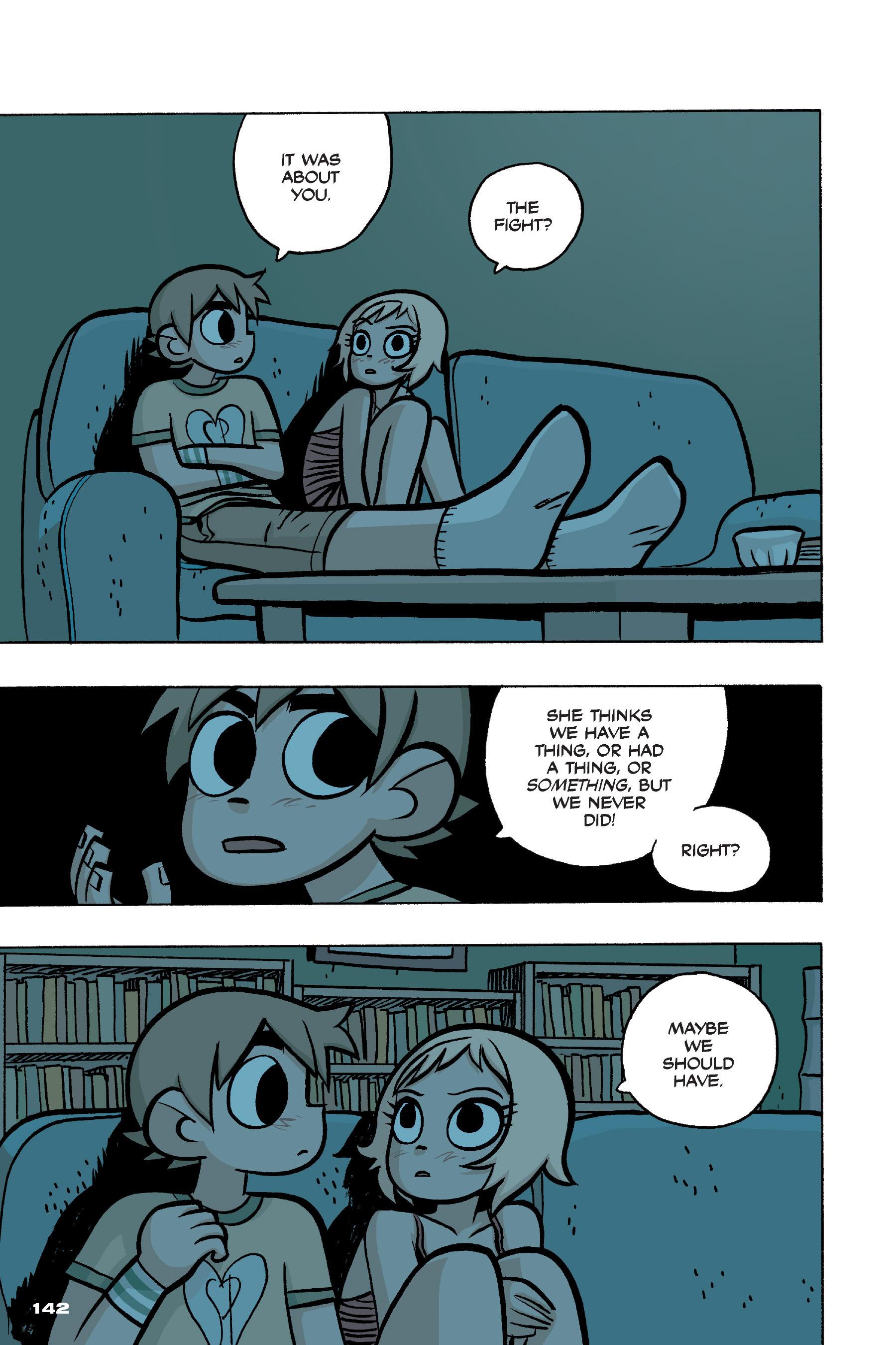 Read online Scott Pilgrim comic -  Issue #4 - 139