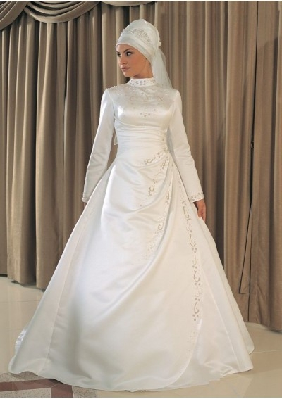 Muslim Wedding Bridesmaid Dresses : Awesome fashion muslim wedding dresses