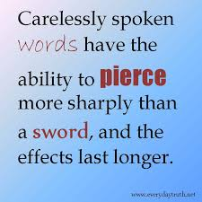 Daily Musings: Why Words can Hurt or Heal