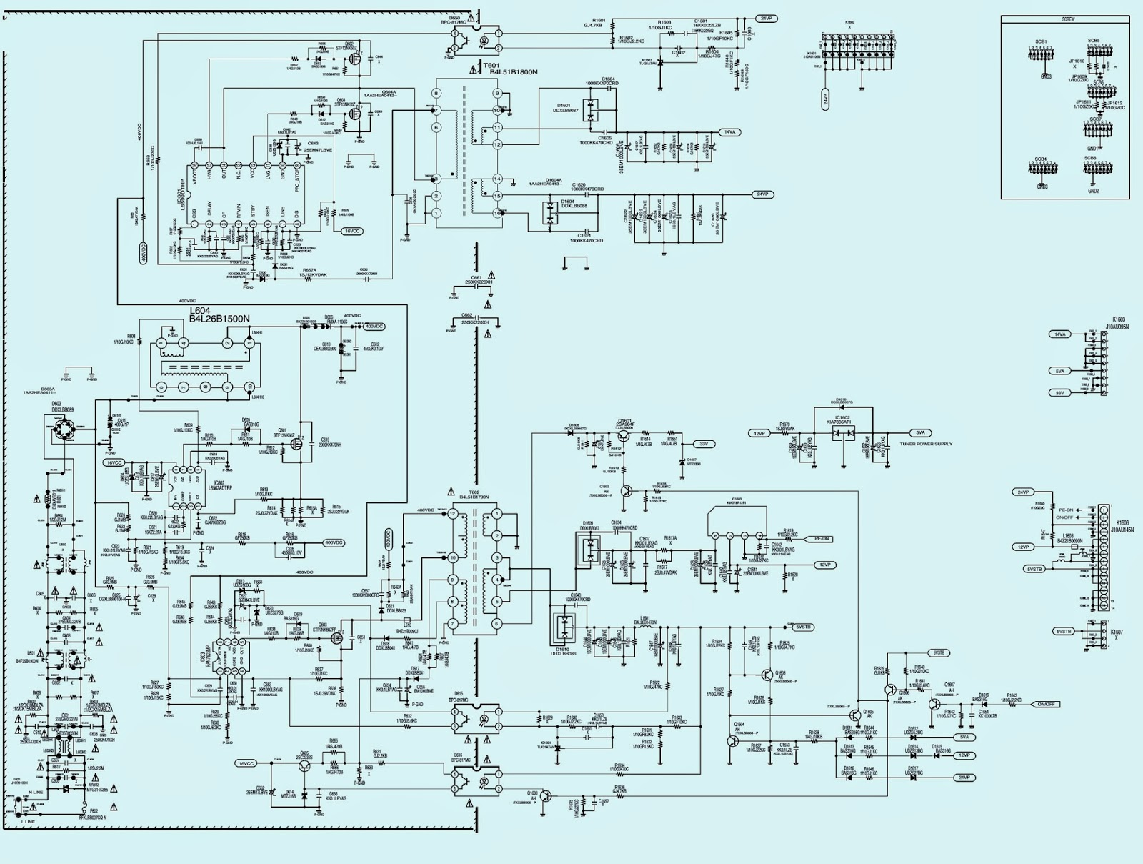 Str 6707 Smps Schematic [circuit trane e library wiring diagrams ...
