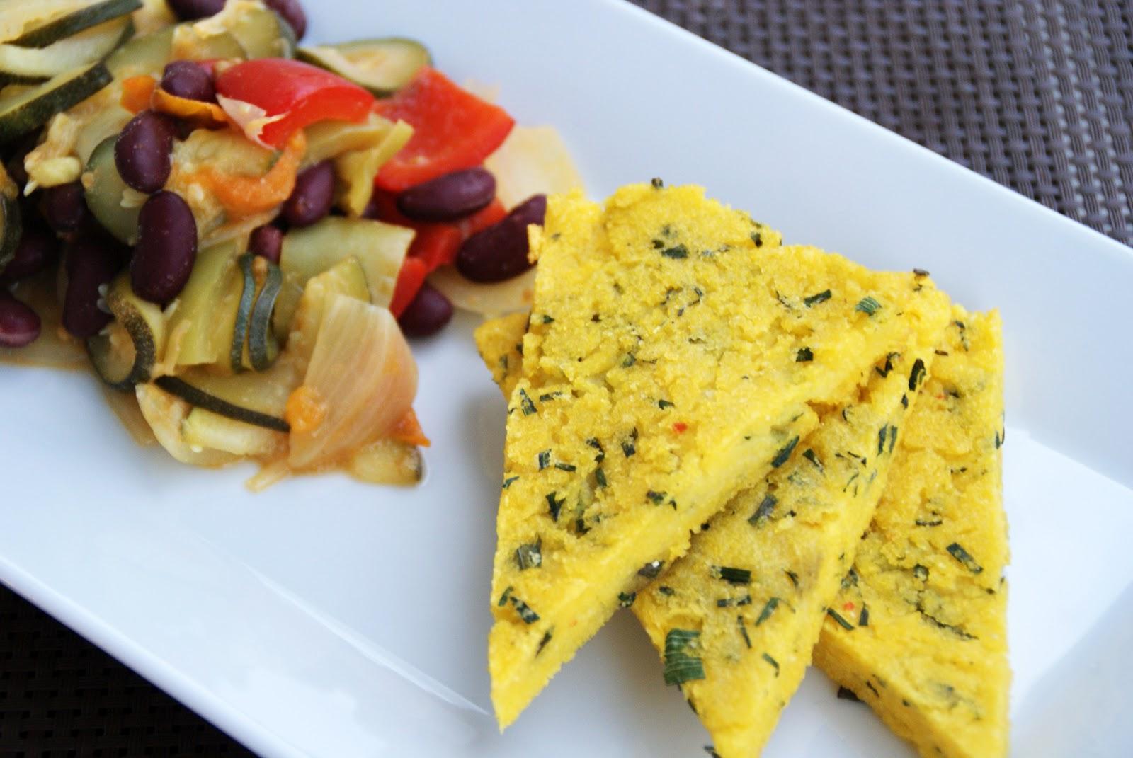 Totally veg schnittlauch polenta an buntem sommergem se for Boden italienisch