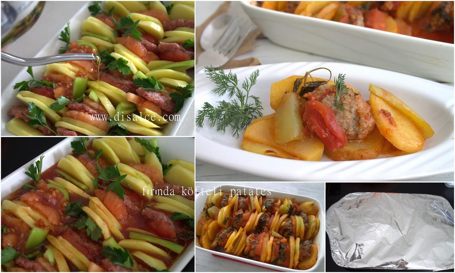 köfteli fırın yemeği