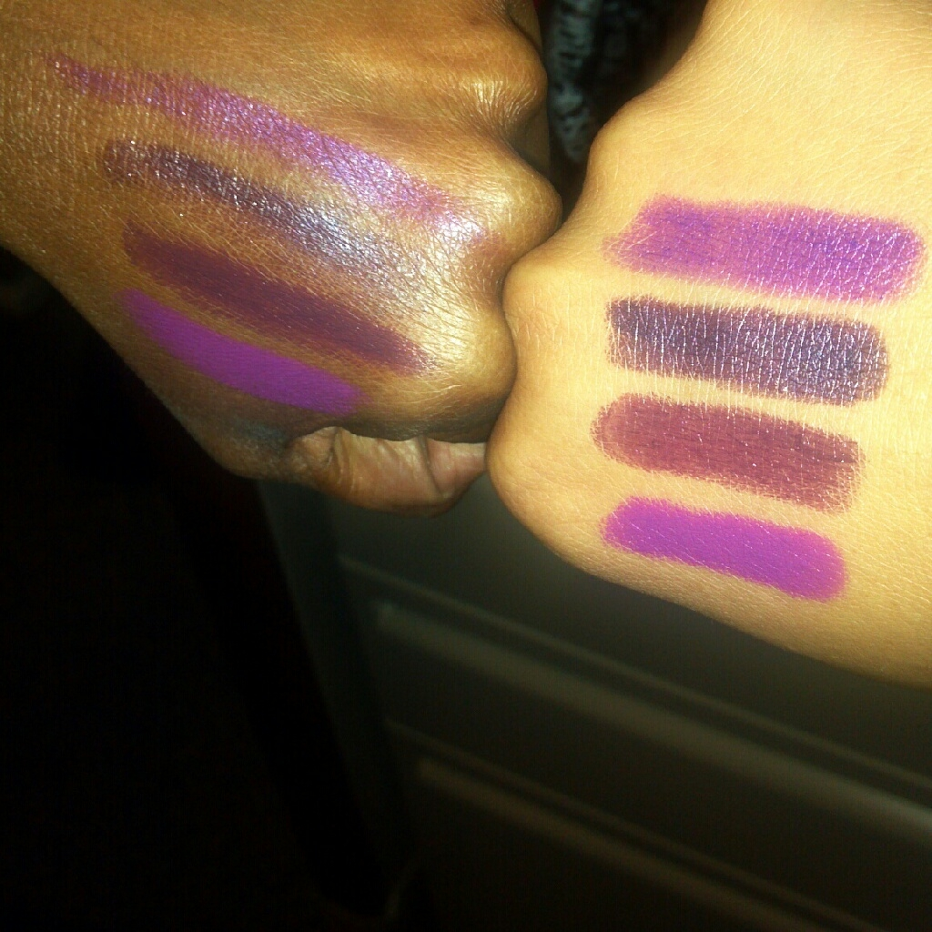 yummy411....get it here!: Lipstick Quickie: Purple ...