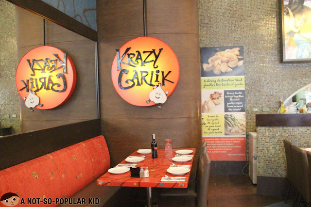 Krazy Garlik Restaurant - Newport City