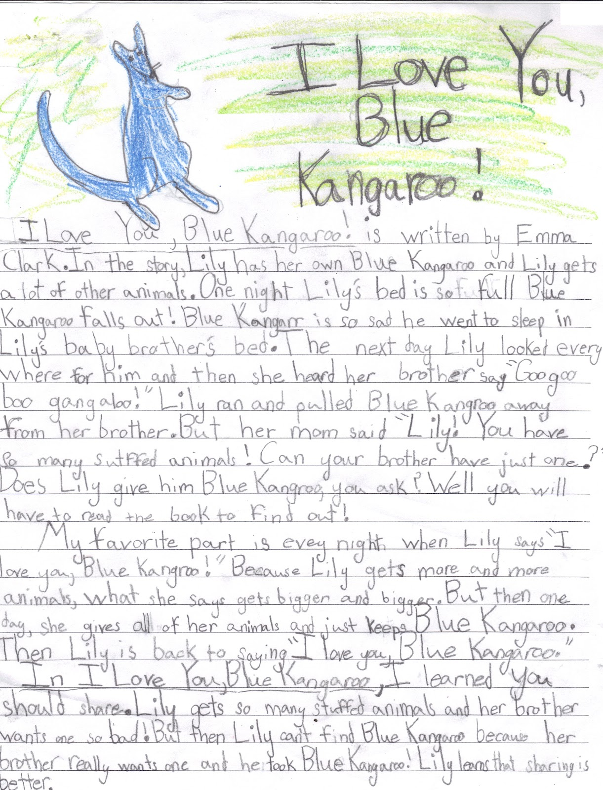 ... ... Book review example for 5th grade. Book Reviews on Pinterest