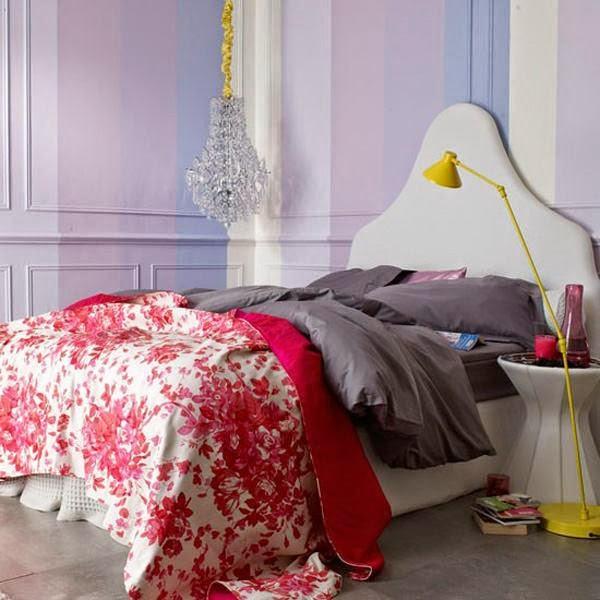 5 الوان زاهية لغرف النوم المودرن