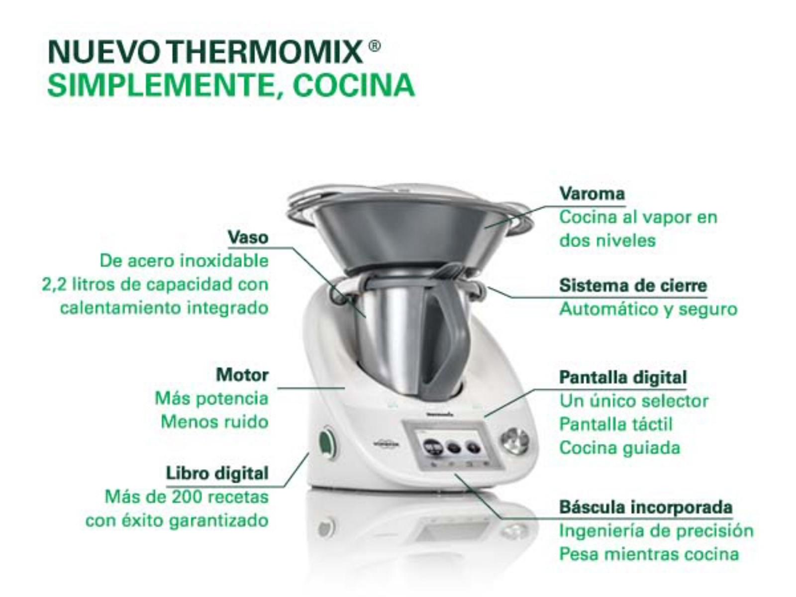 Bienvenidos a este revortillo nuevo thermomix 5 tm5 - Robot de cocina cocimax ...
