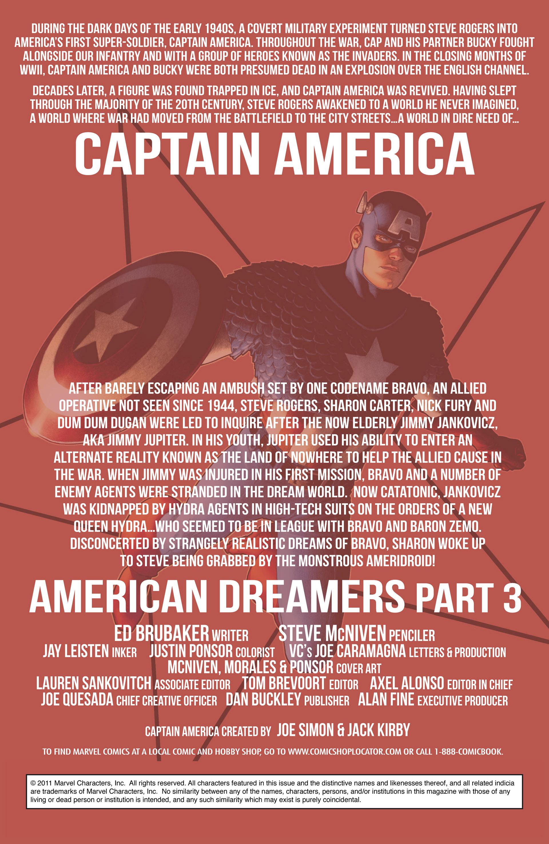 Captain America (2011) Issue #3 #3 - English 2