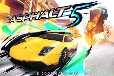 game balap android Asphalt 5 QVGA