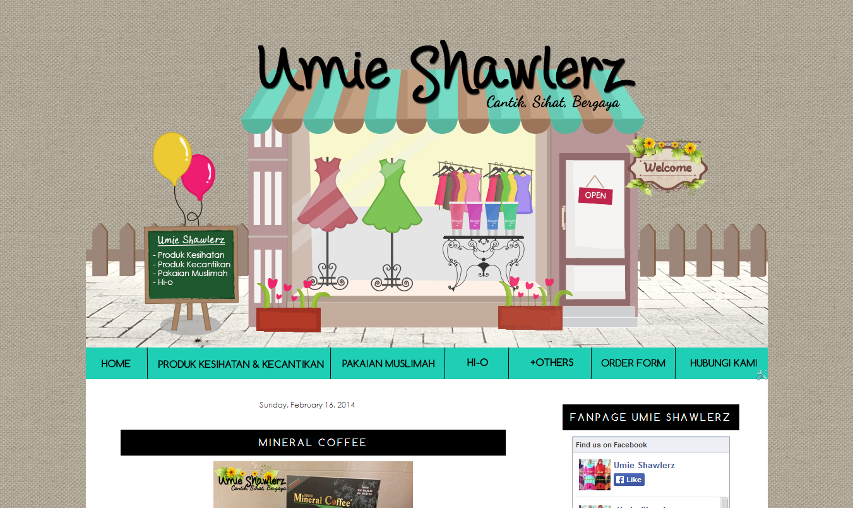 Edit Blog Umie Shawlerz