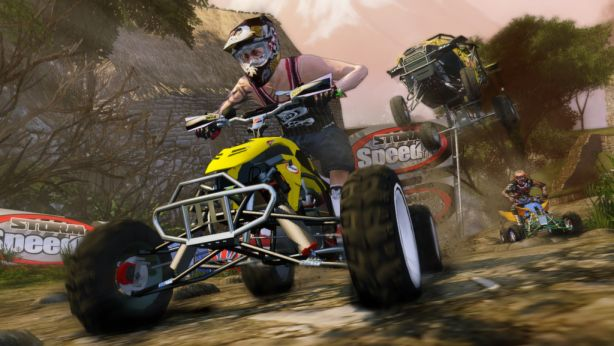 Screen Shot Of Mad Riders (2012) Full PC Game Free Download At Downloadingzoo.Com