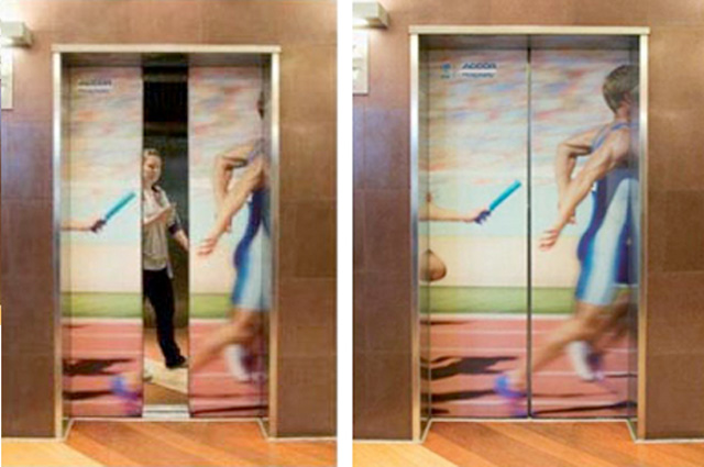 Accor Hotel for Olympic Games Sydney Top 27 Creative Elevator Advertisements
