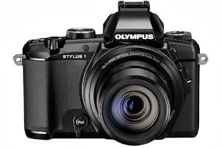 Olympus Stylus 1 12 MP fotocamera digitale con 10,7 X f 2.8 obiettivo Zoom