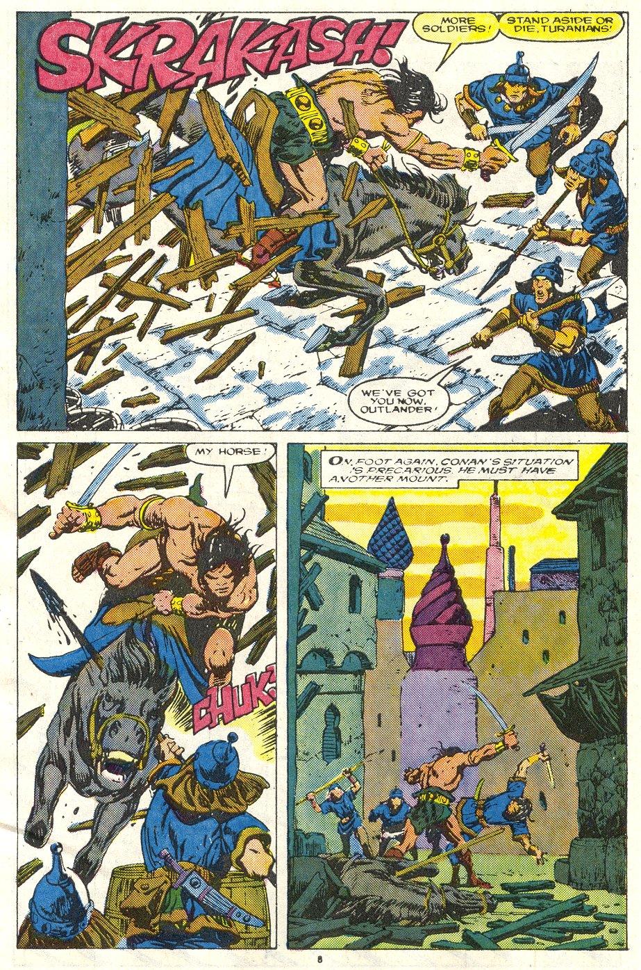 Conan the Barbarian (1970) Issue #219 #231 - English 7
