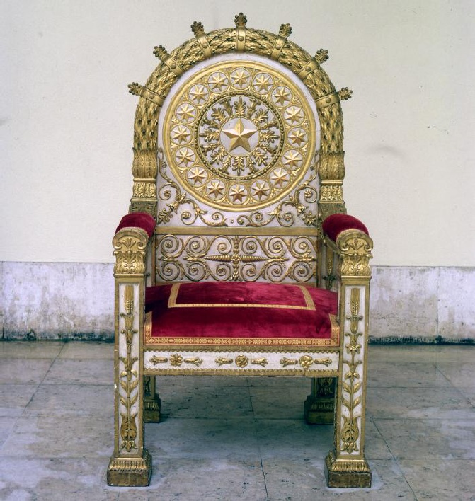 O TRONO RÉGIO DE D. MARIA II