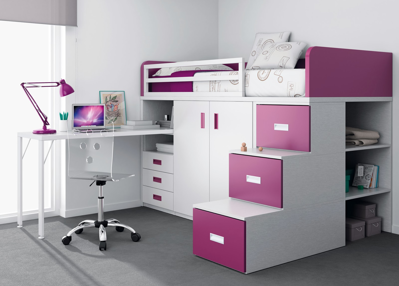 Blog dormitorios juveniles com c mo elegir la cama de un for Camas en alto juveniles
