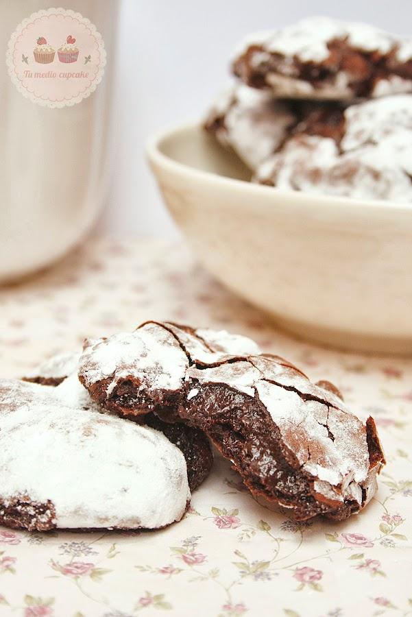Dark Chocolate Cookies... ¡las cookies súper perfectas!