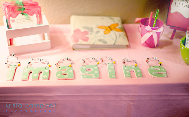 imagine, welcome table, imagine cards for baby, pink & green, scrapbook