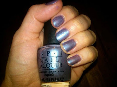 OPI, OPI Nail Lacquer, OPI The Color to Watch, OPI Swiss Collection, OPI Swiss Collection Fall 2010, OPI Swiss Collection The Color to Watch, OPI nail polish, OPI polish, OPI lacquer, nail, nails, nail polish, polish, lacquer, nail lacquer, mani, manicure, mani of the week, OPI mani, OPI manicure