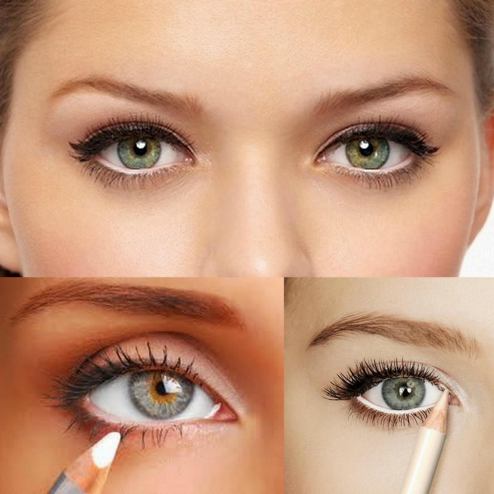 Eye make-up tips for smaller eyes foto