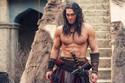 El regreso de Conan el Bárbaro, interpretado por Jason Momoa