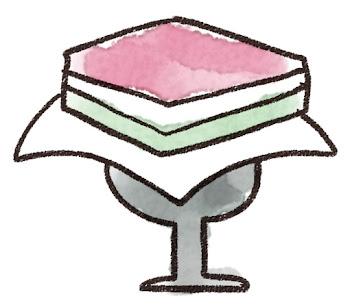 菱餅のイラスト(ひな祭り)
