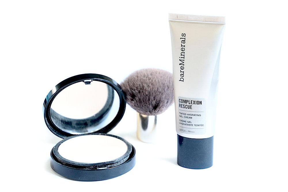 bareminerals complexion rescue crème hydratante teintée bareskin voile perfecteur avis test avant après