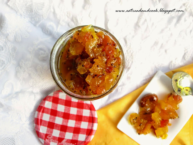 Bengali traditional anaraser chutney recipe